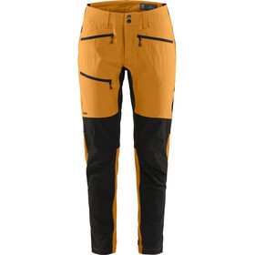 Haglöfs Rugged Flex Pantalones Mujer, desert yellow/true black